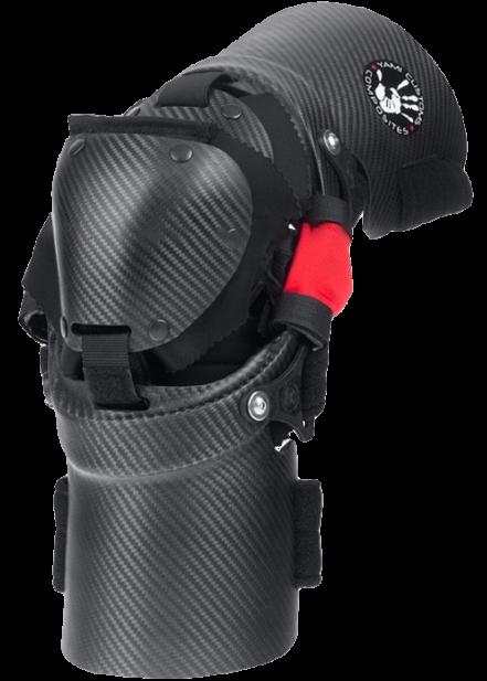 Согнутая кастомная защита ноги